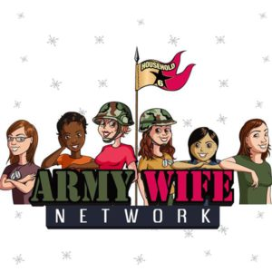 Army Wife Network - radio logo