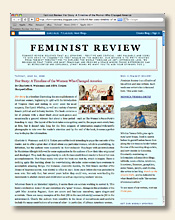 Feminist Review - Reviews Her Story A Timeline