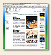 Prism Magazine - Home PAge
